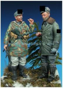 Mantis Miniatures German SS set - Europe 1944-45