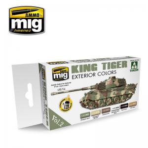 Ammo Mig Jimenez King Tiger Exterior Color (special Takom edition) VOL.2