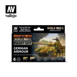 Vallejo German Armour WWII Paint Set (x6)