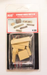 MIG Productions Storage Boxes for Pz IV