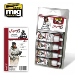 Ammo Mig Jimenez Winter Uniforms