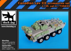 Black Dog Canadian LAV III - Accessories Set (TRU)