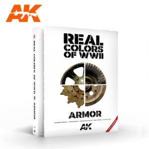 AK Interactive Real Colors of WWII Armor, 2nd Ed