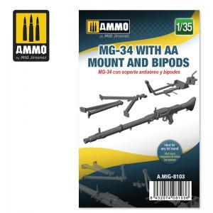 Ammo Mig Jimenez MG-34 w AA Mount and Bipods