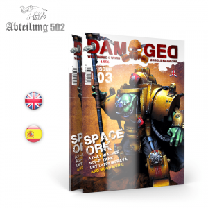 Abteilung 502 DAMAGED, Worn and Weathered Models Magazine - 03 (English)