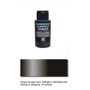 Vallejo Gloss Black Primer, 60ml.