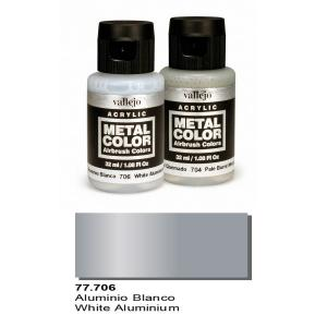 Vallejo Metal Color, White Aluminium, 32ml.