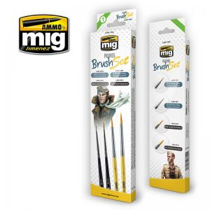 Ammo Mig Jimenez Figures Brush Set