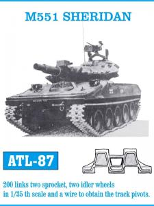 Friulmodel M551 Sheridan - Track Links