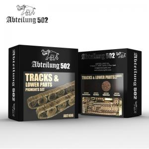 Abteilung 502 TRACKS & LOWER PARTS - PIGMENT SET