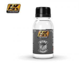 AK Interactive NITRO THINNER (FOR CLEAR COLORS AND FOR CLEANING)