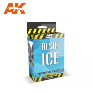 AK Interactive RESIN ICE - 2 COMPONENTS