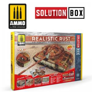 Ammo Mig Jimenez SOLUTION BOX - Realistic Rust