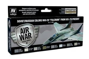 "Vallejo Model Air - Soviet/Russian Colors MIG-29 ""FULCRUM"""