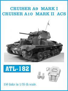 Friulmodel Cruiser A9 Mk I/A10 MkII/ACS