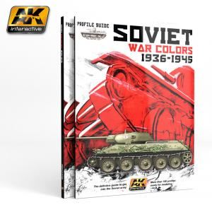 AK Interactive SOVIET WAR COLORS PROFILE GUIDE - English