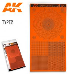 AK Interactive EASYCUTTING BOARD TYPE 2
