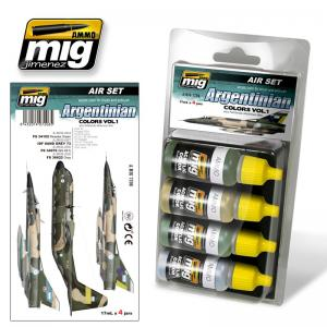 Ammo Mig Jimenez Argentinian Colors Vol 1 (also Falklands war)