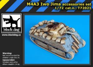 """Black Dog M4A3 """"Iwo Jima"""" - Accessory Set (DRA)"""