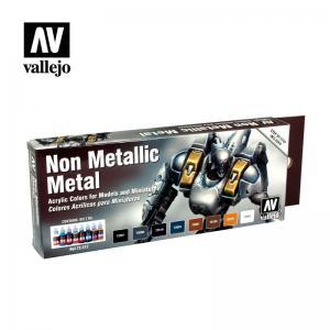 Vallejo Game Color - Non Metallic Metal (x8)