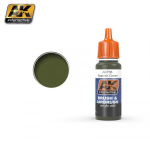 AK Interactive SPANISH GREEN 17 ml
