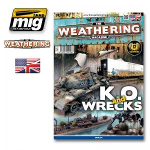 Ammo Mig Jimenez The Weathering Magazine #9, K.O. and Wrecks.
