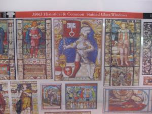 Reality in Scale Historical Stained Glass Windows