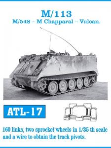 Friulmodel M-113/M-548 Chapparal/Vulcan - Track Links