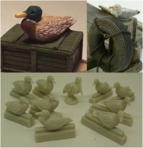 Reality in Scale Water Bird Set (10pcs.)