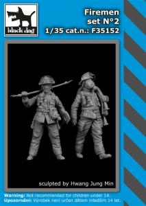 Black Dog Firemen Set No.2 (2 fig.)