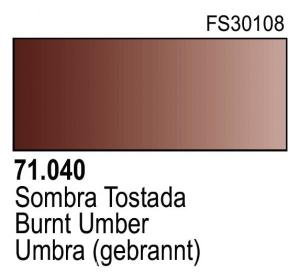 Vallejo Model Air 040 - Burnt Umber