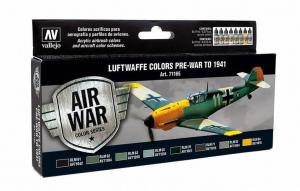 Vallejo Model Air Paint Set (8), luftwaffe Pre-War to 1941.
