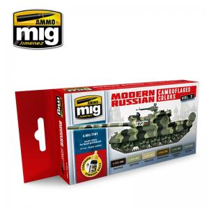 Ammo Mig Jimenez Modern Russian Camo Colors Vol.2