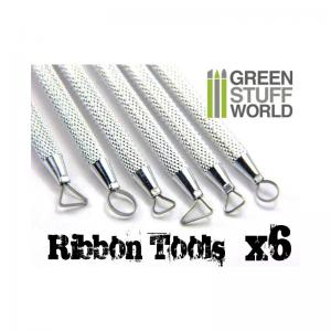Green Stuff World Mini Ribbon Sculpting Tool Set