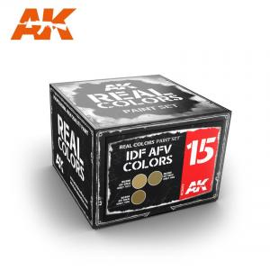 AK Interactive IDF AFV COLORS SET