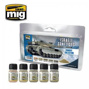 Ammo Mig Jimenez Israeli Conflict Pigment Collection