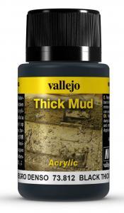 Vallejo Black Thick Mud 40 ml