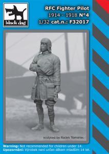 Black Dog RFC Fighter Pilot 1914-1918 No.4