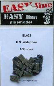 Plus Model U.S. Water Cans (8 pcs)