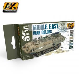 AK Interactive MIDDLE EAST WAR VOL.1 COLORS SET