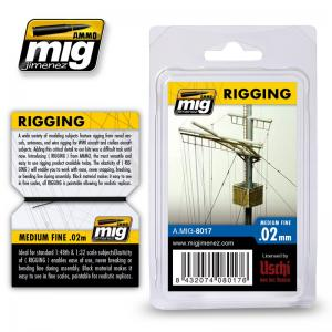 Ammo Mig Jimenez Rigging - Fine 0,02mm