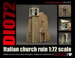 Reality in Scale Italian Church Ruin