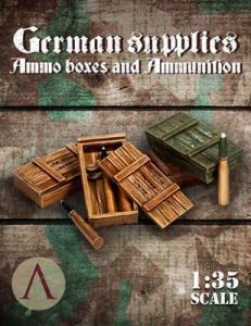 Scale75 GERMAN SUPPLIES - AMMO BOXES AND AMMUNITIONS 2