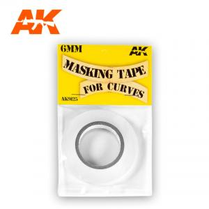 AK Interactive Masking Tape for curves 6mm