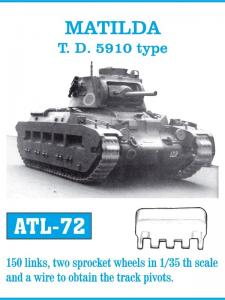 Friulmodel Matilda T.D. 5910 type - Track Links