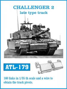 "Friulmodel Challenger 2 ""Late Type"" - Track Links"