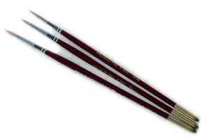 Vallejo Toray Brush Set (0, 1, 2)