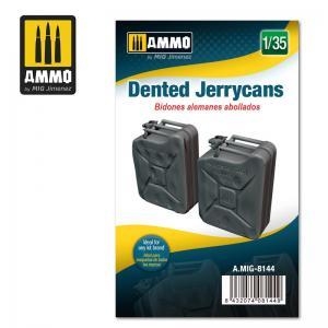 Ammo Mig Jimenez Dented Jerrycans