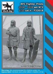 Black Dog RFC Fighter Pilots set 1914-18 No.2