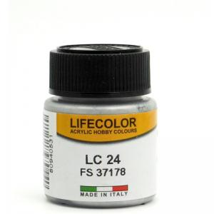 LifeColor natural metal/matt aluminum - 22ml